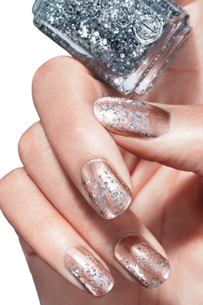 Essie.com. Brilliant Buff Nails - 20+ Glitter Nail Art Ideas - Tutorials For Glitter Nail Designs