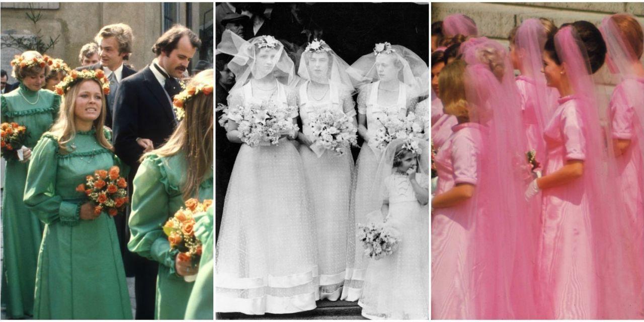 Antique Bridesmaid Dresses