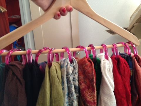 Textile, Room, Fashion, Magenta, Toe, Clothes hanger, Nail, Natural material, Collection, Wool,