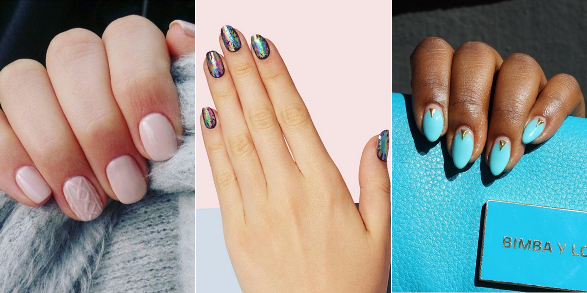 the best nail art trends for 2016 — nail color and design trends