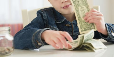 essay on money for kids
