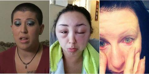 Lip, Cheek, Hairstyle, Skin, Green, Chin, Eyelash, Forehead, Eyebrow, Photograph,