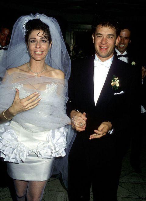 Tom hanks Rita Wilson Wedding April 30, 1988