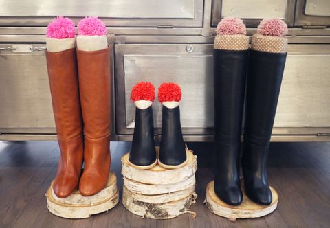 Pink, Magenta, Carmine, Boot, Lipstick, Peach, Brush, Riding boot, Cosmetics, Rain boot,