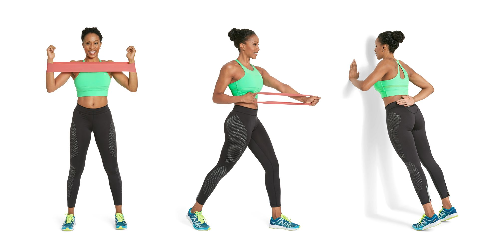 3 Exercises To Tone Back And Bra Bulge How To A Circular