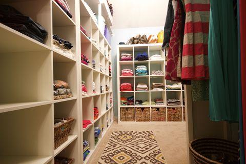 Room, Shelf, Shelving, Closet, Collection,