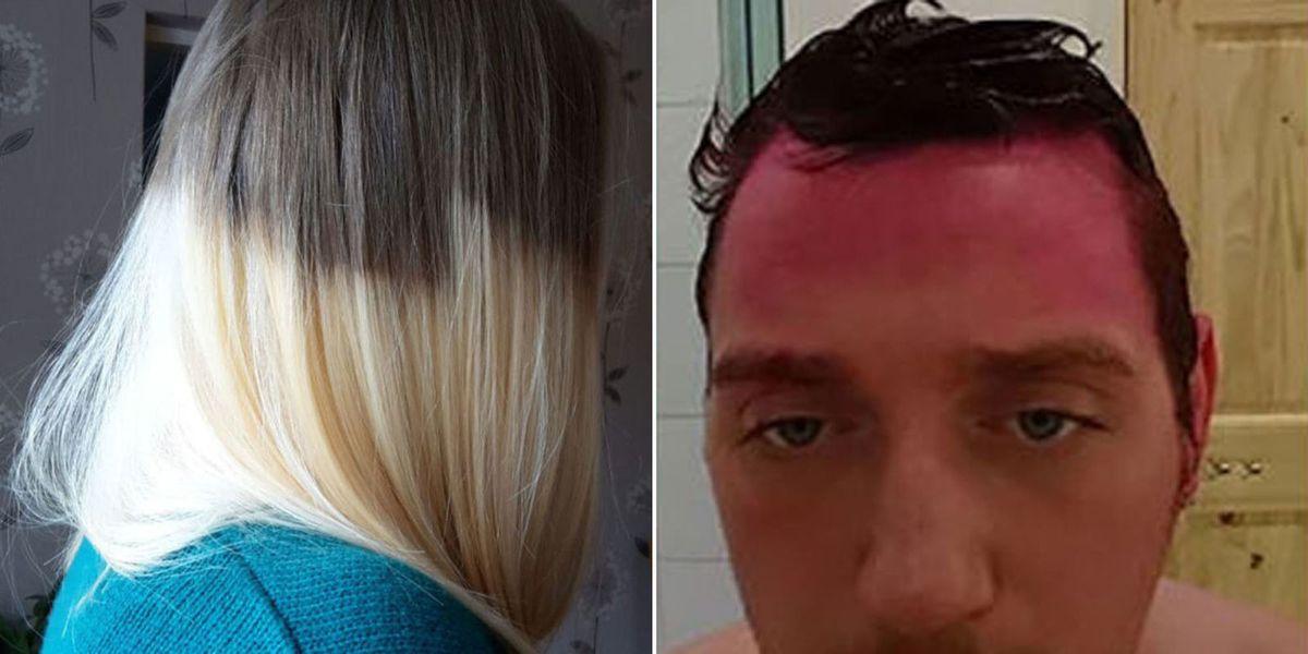 Hilarious Hair Dye Fails Funny Botched Hair Dye Jobs