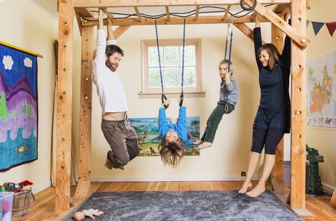 This Family Traded Mattresses For Monkey Bars Katy Bowman