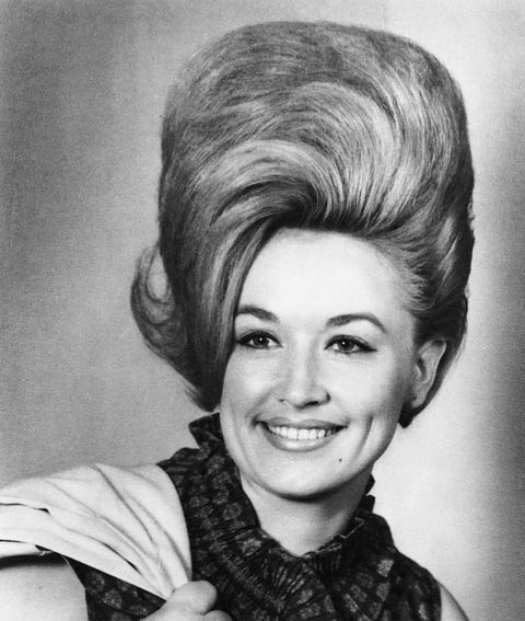 1965: Country singer Dolly Parton poses for a portrait in 1965 in Nashville, Tennessee.