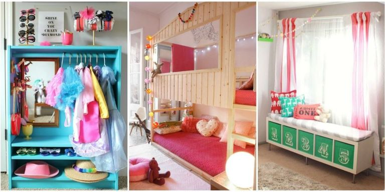 ikea hacks for organizing a kid's room - toy storage organization ideas