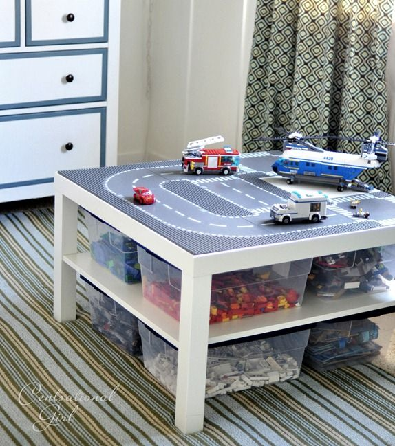 IKEA Hacks for Organizing a Kid's Room - Toy Storage