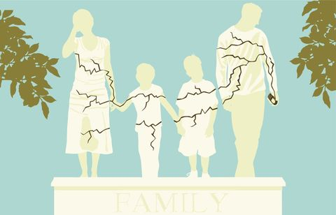 Standing, Interaction, Art, Gesture, Animation, Holding hands, Illustration, Graphics, Painting, Family,