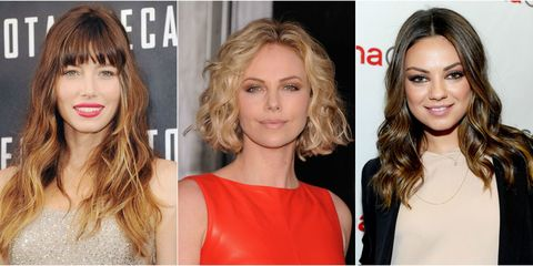 20 Celebrity Wavy Hairstyles - Best Wavy Hairstyles & Cuts