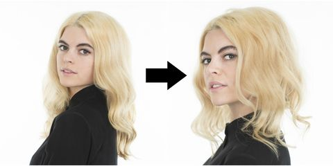 How To Make Hair Look Shorter Without Cutting It Faux Bob Tutorial