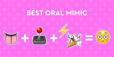 oral sex emoji sex toys