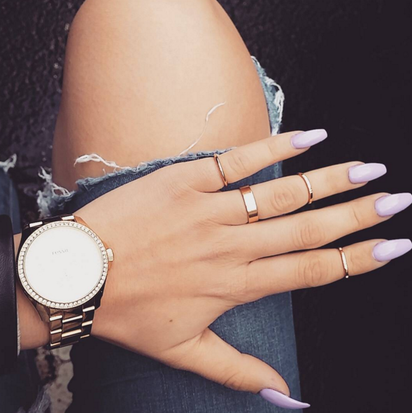 12 Ways to Wear Coffin Shaped Nails \u2014 Design Ideas for