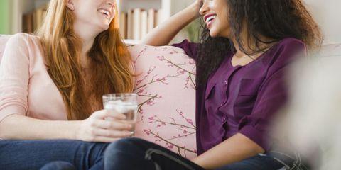 girlfriend friend couch women friendship