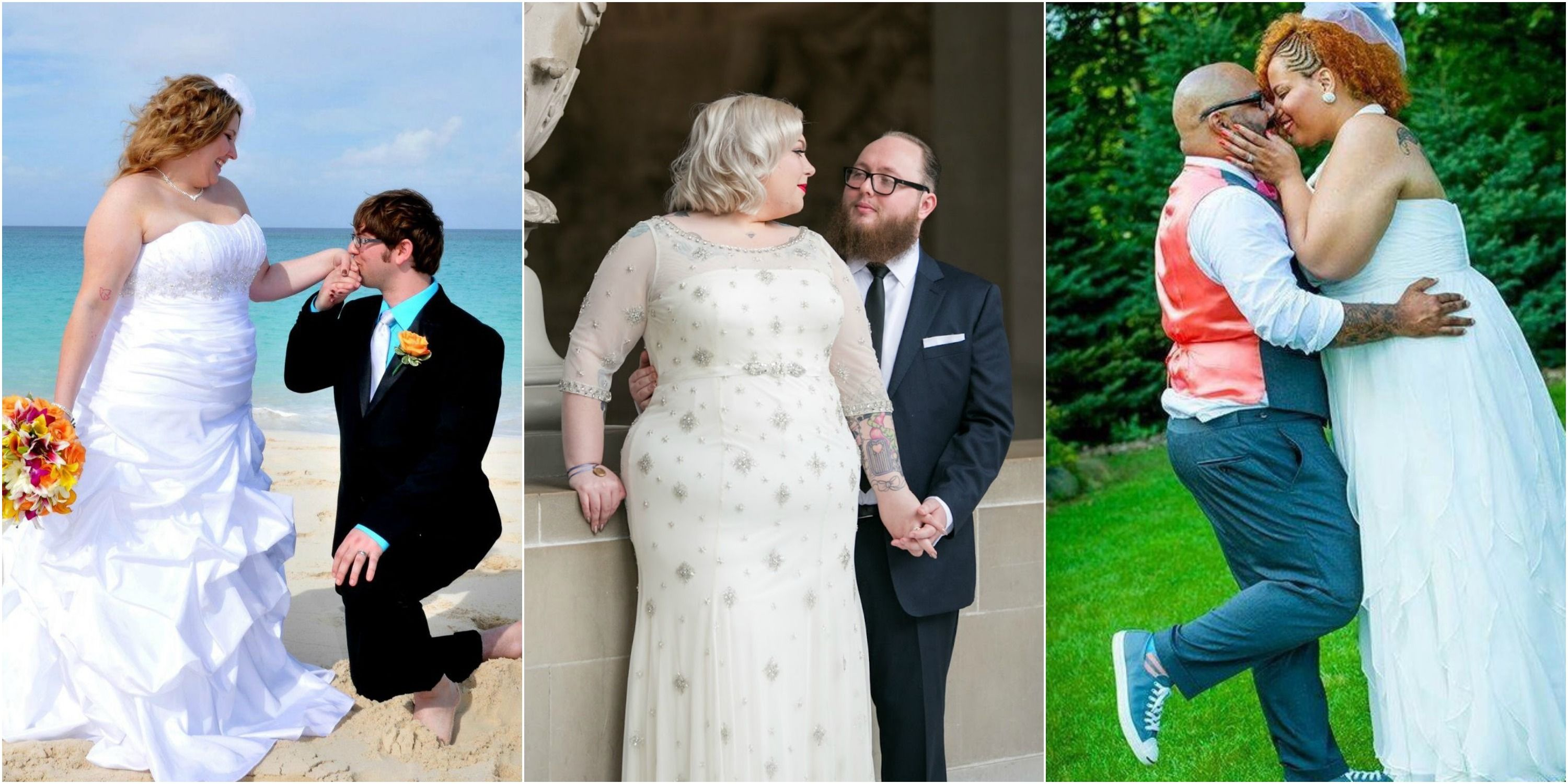 Blogger Makes Gallery of Plus-Size Brides in Wedding Dresses ...