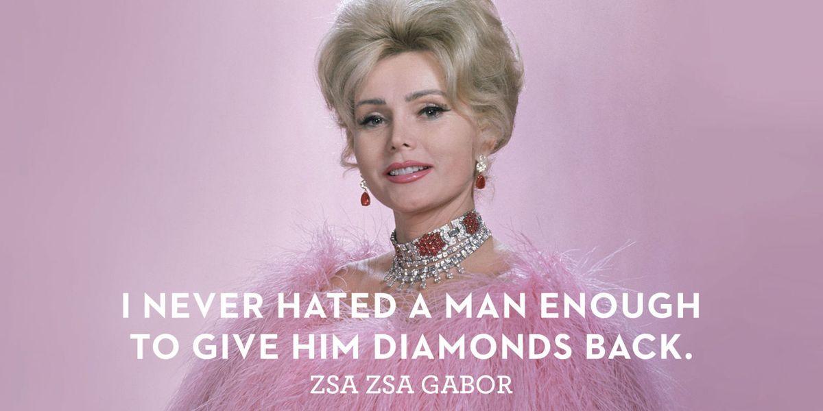 Zsa Zsa Gabor Through The Years Zsa Zsa Gabor Quotes Impressive Zsa Zsa Gabor Quotes