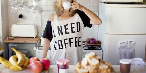 Woman in tshirt