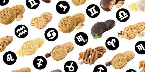 Girl Scout Cookie Zodiac