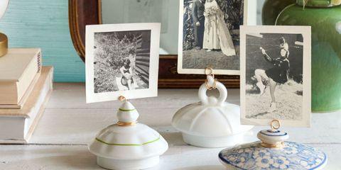 Tea Pot Lid Picture Holders