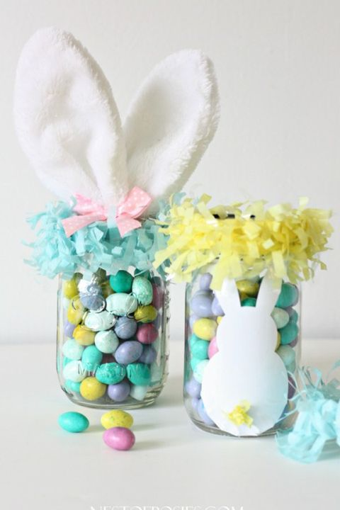 39 diy easter basket ideas unique homemade easter baskets good mason jar easter baskets negle Image collections
