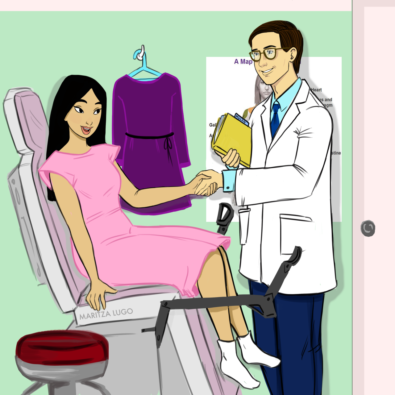 Disney Princess Gyno Appointment