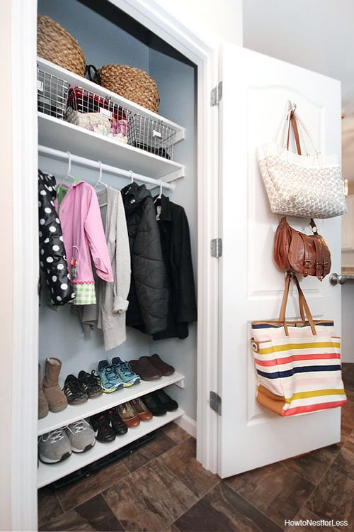 easy closet organizing ideas