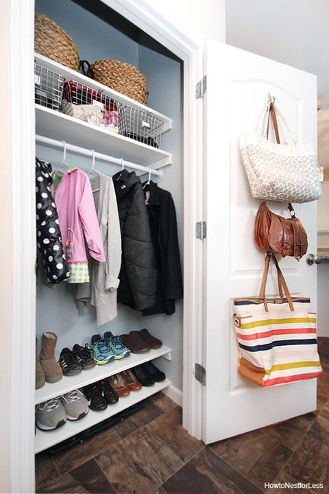7f003494afa1 30 Closet Organization Ideas - Best DIY Closet Organizers