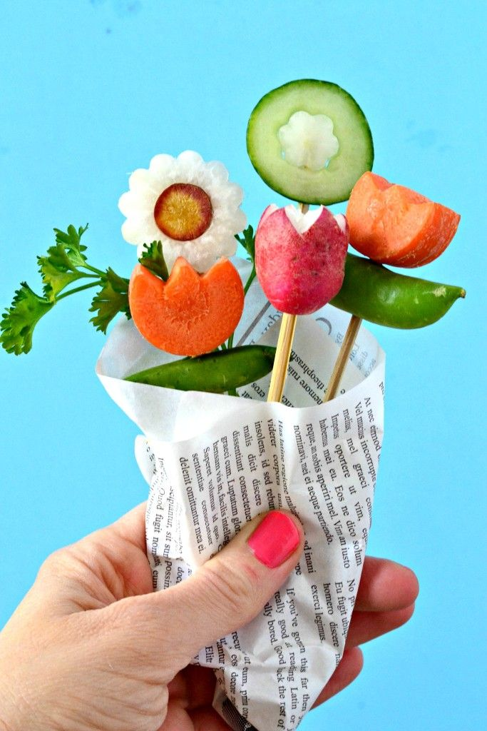 20 Ways to Make Your Food Look Like Flowers - Flower-Shaped Foods