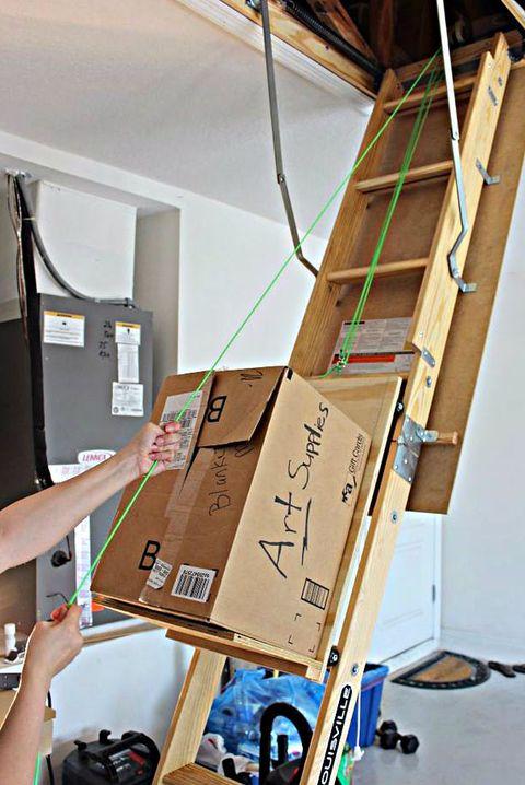 12 Unfinished Attic Storage Ideas How To Add Storage To