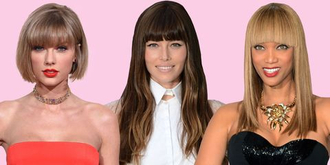 Blunt Bangs Are So Trendy For 2016 Best Blunt Bang Styles