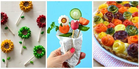Edible Flower Collage