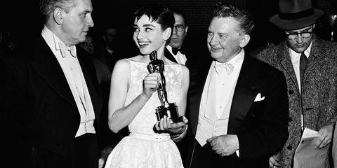 Audrey Hepburn at Oscars