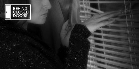 domestic violence stalking window