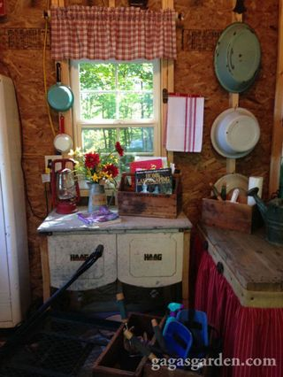 Garden Shed for a Teacher - She Shed With Teacher Decor