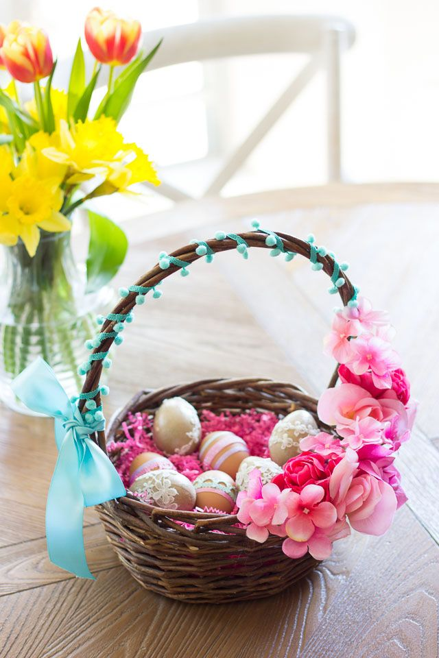 32 Diy Easter Basket Ideas Unique Homemade Easter Baskets