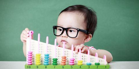 Eyewear, Vision care, Finger, Pink, Eyelash, Nail, Play, Baby, Toy, Plastic,
