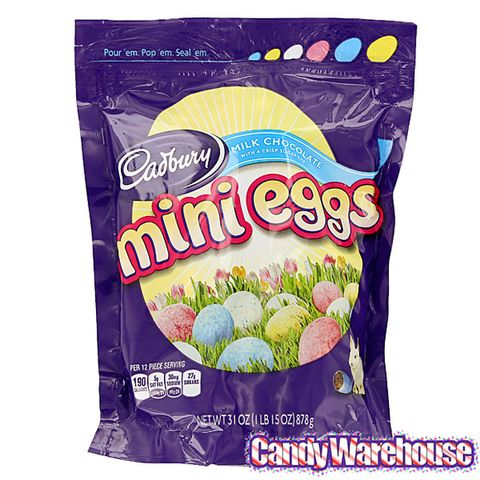 <p>These milk chocolate-filled goodies offer delight in every bite. Put them in toy Easter eggs, in baskets, or eat them right out of your hand. You can <em>never</em> have too many!</p>