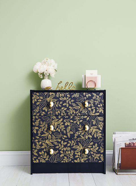 Patterned Dresser - DIY Home Decor