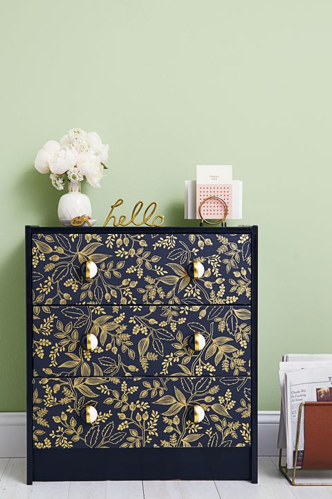 Patterned Dresser - DIY Home Decor
