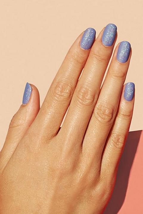 Nail, Finger, Nail polish, Manicure, Nail care, Blue, Hand, Cosmetics, Azure, Service,