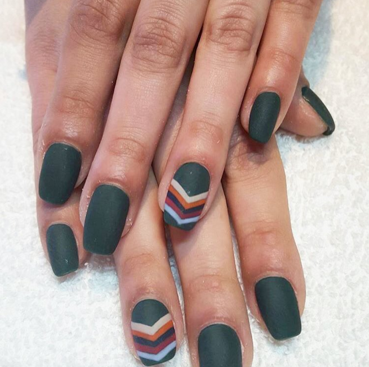 13 Cool Matte Nail Design Ideas - Unique Matte Nail Polish Art
