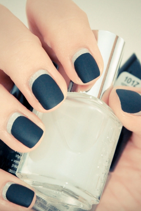 Nail polish, Nail, Blue, Manicure, Nail care, Cosmetics, Finger, Hand, Turquoise, Material property,