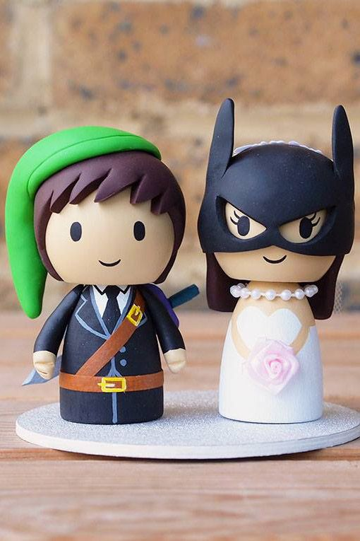 geek wedding cake toppers uk 19 unique wedding cake toppers 14663