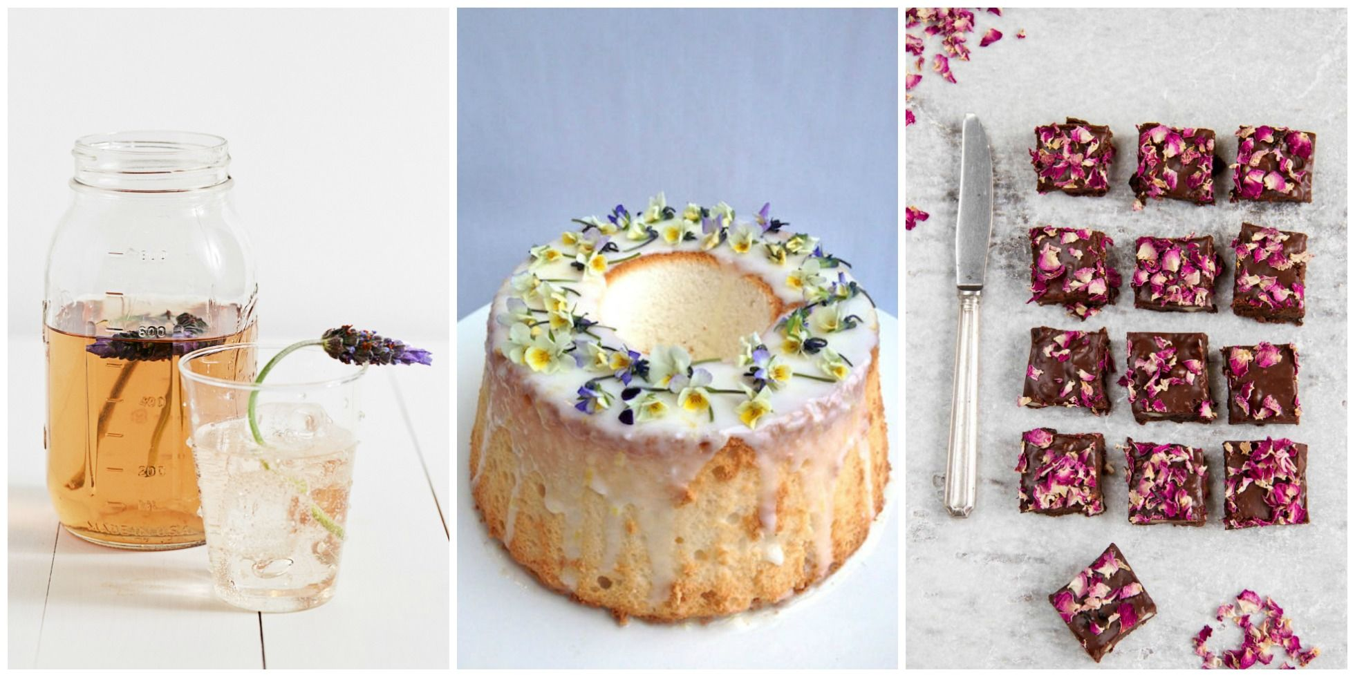 Edible Flower Recipe Ideas - How to Cook With Edible Flowers