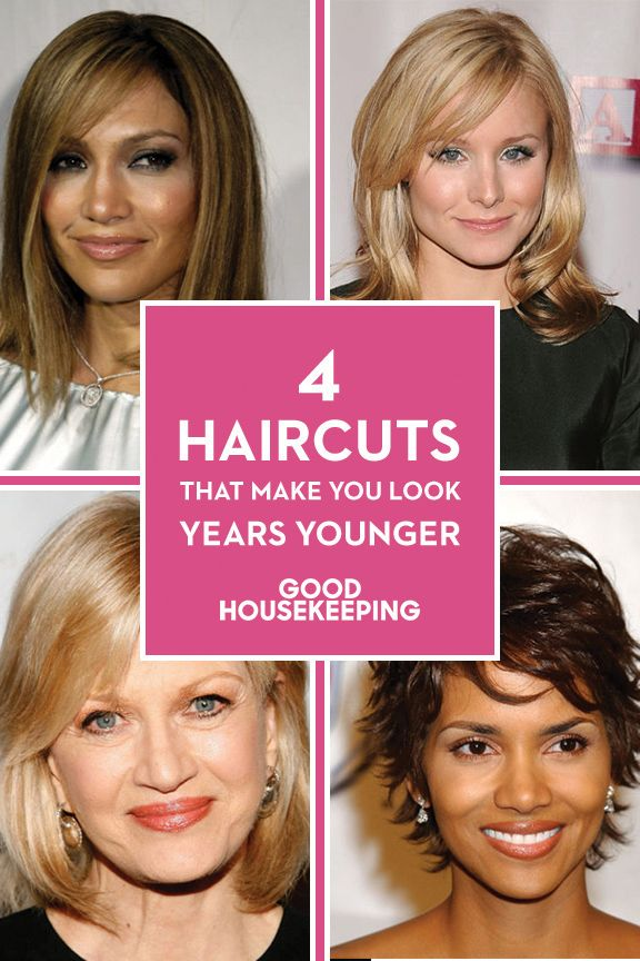 Haircuts to Look Younger - Flattering Haircuts and Hairstyles