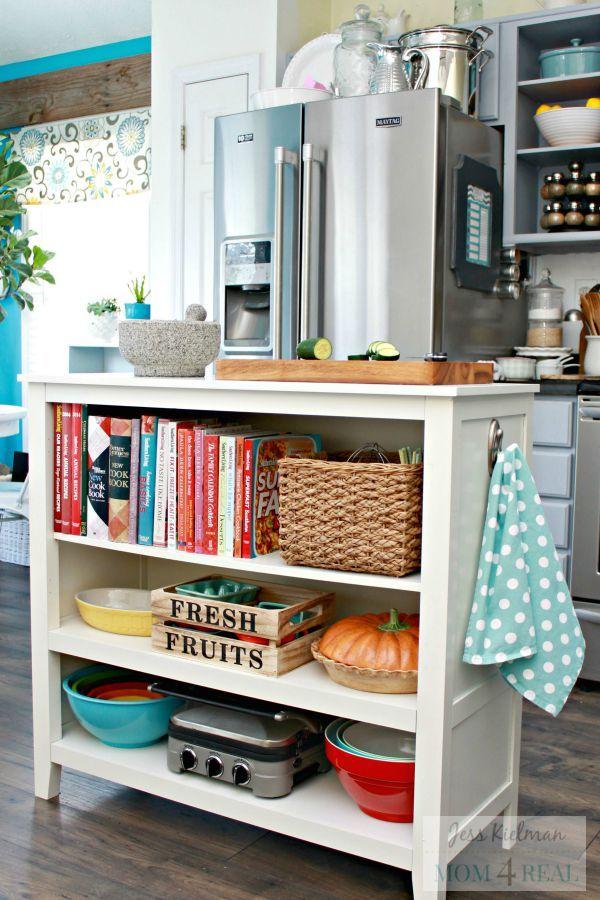small kitchen storage & 20 Kitchen Organization Ideas - Kitchen Organizing Tips and Tricks