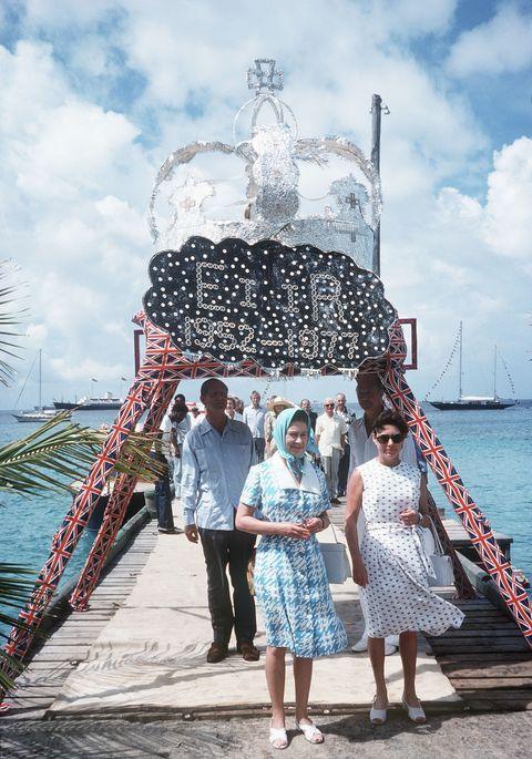 Elizabeth II Mustique Island